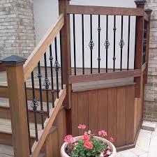 collar accessory for round baluster by deckorators hospitality