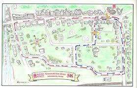 Race Map Maps Kennebunk Art Studio