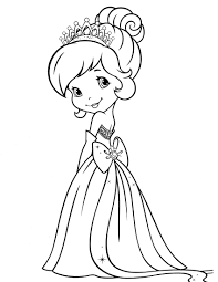 strawberry shortcake friends coloring pages print