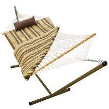 Free Standing Hammock Amazon Com Algoma 8911e Stand Pad And Pillow Combo