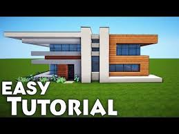 minecraft how to build a cool starter house tutorial easy