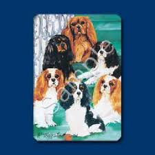 cavalier king charles spaniel cards by ruth maystead