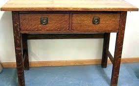mission oak corner computer desk mission oak desk oak writing desk danish for sale at oak writing