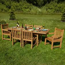 Kidkraft Outdoor Picnic Table by Jakie Extra Long Rectangular Expandable Teak Outdoor Table Set