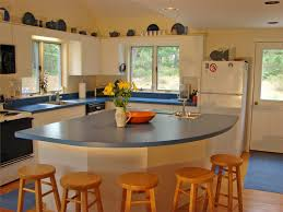 state of the art large kitchen with breakfast bar wellfleet cape