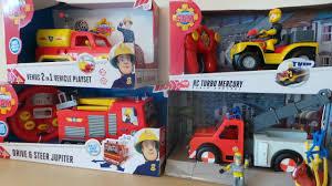 fireman sam 5 unboxings deluxe emergency vehicles
