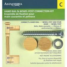 alexandria moulding newel post fastening kit sp037 00c home