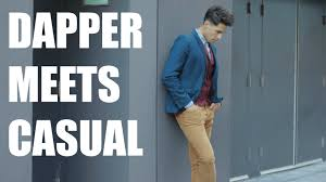 smart casual for men mens winter fashion 2015 youtube