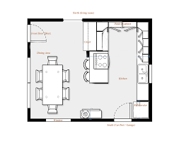 kitchen dining room floor plans kitchen plans awesome kitchen floor plans among dining area also