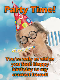 to my craziest friend funny birthday card birthday u0026 greeting