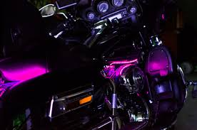 pink motorcycle led light kit illumimoto