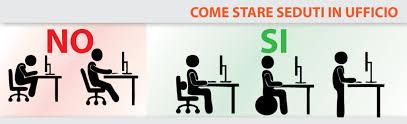 postura corretta scrivania postura in ufficio palestra movimento bologna