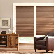 home decorators collection cut to width mocha 9 16 in blackout