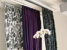 electric curtains and digital curtain rails