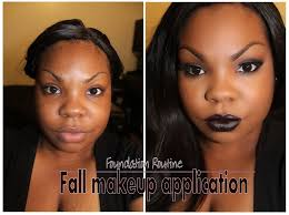makeup application flawless fall foundation routine youtube