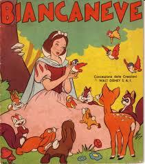 filmic light snow white archive 1940s italian coloring book