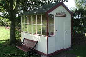 signal shed kats halt signal box cabin summerhouse from dumfriesshire