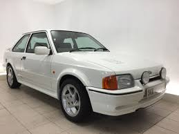 1990 ford escort rs turbo s2 24 000 miles u2013 sce classic