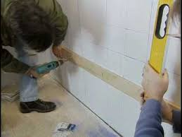 Installing Tile On Walls How To Tile A Bathroom Wall The Home Depot Youtube