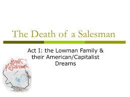 death of a salesman theme of alienation death of a salesman final p pt