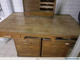 meuble bureau ancien bureau ancien et armoire coulissante a vendre 2ememain be