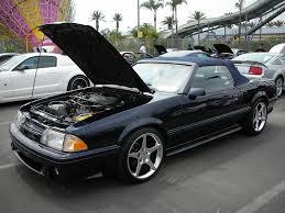 Black Fox Mustang Ford Mustang Foxbody Convertible Navymailman Flickr