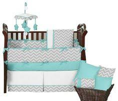 Jojo Crib Bedding Sweet Jojo Designs 11pc Zig Zag Crib Set Gray Chevron Again A