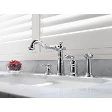 Delta Chrome Kitchen Faucets Kitchen Faucets Get A Modern Or Traditional Kitchen Sink Faucet