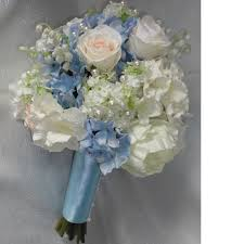blue wedding bouquets blue petyl wedding bouquets bouquet delpinium e hm