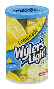 wyler s light singles to go nutritional information wyler s light sugar free low calorie soft drink lemonade 1 57 oz