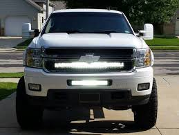 40 inch led light bar 20 inch and 40 inch led light bar with bumper and grille brackets