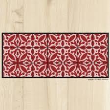 tapis cuisine original tapis de cuisine design côté paillasson