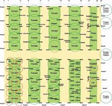 Companion Gardening Layout Companion Planting Garden Layout Sedl Cansko