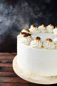 maple frosting bourbon butter pecan cake with maple frosting the flavor bender