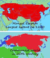 Mongolian Empire Map Research Topics Similarities Between The Mongol Empire And Communism