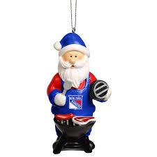 new york rangers santa grill ornament shop nhl