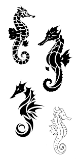 60 sea creature sea horse tattoo designs and pictures