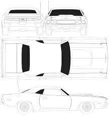 Dodge Challenger Drawing - dodge challenger t a 1970 smcars net car blueprints forum