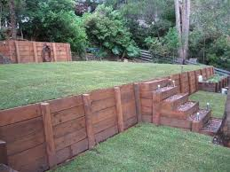 Best  Retaining Wall Design Ideas On Pinterest Retaining Wall - Timber retaining wall design