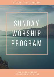 Church Programs Templates Church Program Templates Canva