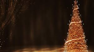gold christmas gold christmas tree wallpaper freechristmaswallpapers net