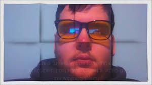 blue light glasses review c g i d blue light blocking glasses review youtube