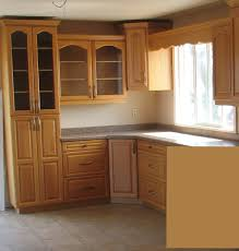 Cabinet Design For Kitchen Kitchen Personalised Furniture Interesting Restaining Oak