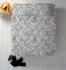 grey watercolor duvet grey bedding in twin queen or king