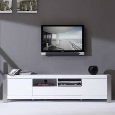 furniture baxton studio marconi brown asymmetrical modern tv