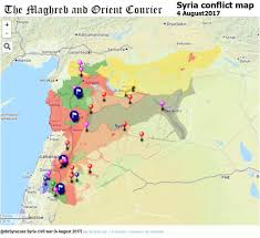 Azaz Syria Via Google Maps by Agathocle De Syracuse Understand Modern Conflicts
