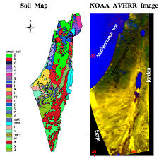 soil map ialc soils of arid regions of the u s and israel israel soils