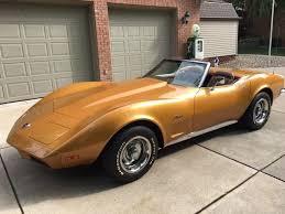1973 chevy corvette for sale 1973 chevrolet corvette convertible 350 4 speed condition