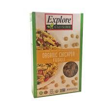 bd cuisine explore cuisine organic chickpea fusilli pasta from kroger instacart