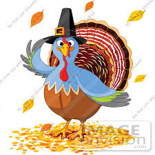 royalty free rf clip illustration of a thanksgiving turkey